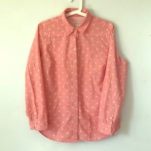 Croft and Barrow collared button up Size M